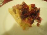 Nantucket Cranberry Pie