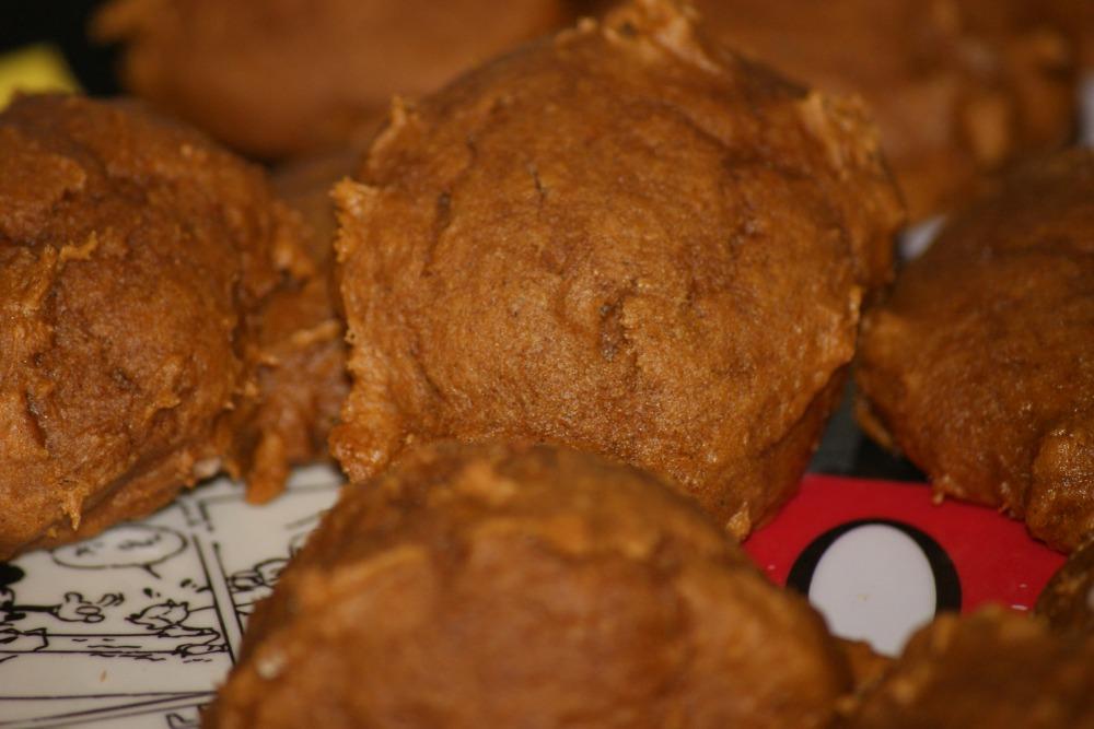 2 Ingredient Pumpkin Cookies (1/2)