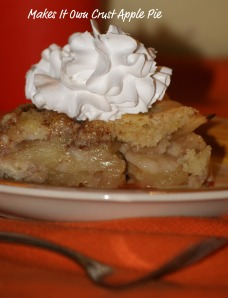 Makes It Own Crust Apple Pie