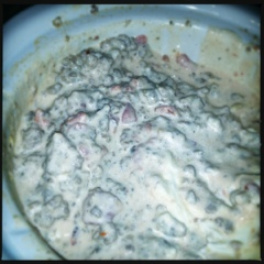 Sausage, cream cheese, and Rotel dip (2/2)