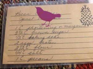 aunt janet recipe