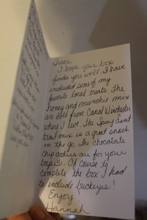 Her card