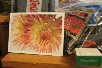 The card and teas