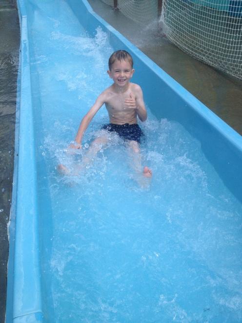 Water Slide - Thumbs Up