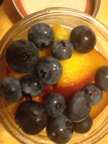 Stone Fruit Fruit Salad