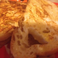 Finished French toast