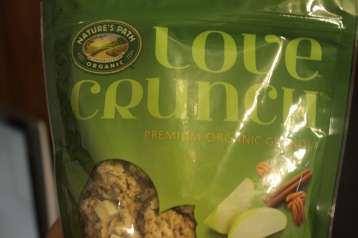 She didn't know this was my favorite store bought granola.