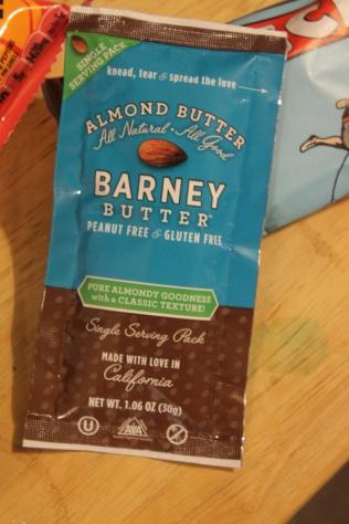 I love almond butter.