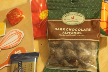 I keep almonds in my desk drawer at work to eat for energy.