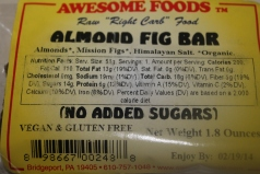 Almond Fig Bar