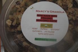 Granola - This is delicious.