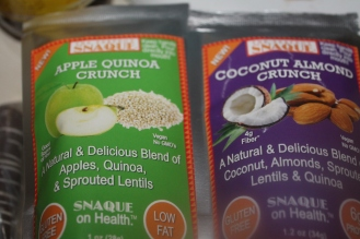 I've tried the apple quinoa crunch. Had to get used to the lentils but it was good.
