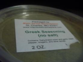 Greek Seasoning