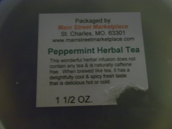 Peppermint Tea (Delicious!)