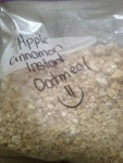 apple cinnamon instant oatmeal