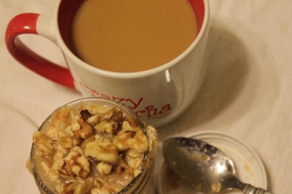 Applesauce Overnight Oatmeal