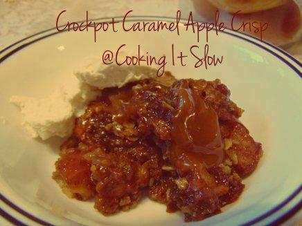 Caramel Apple Crisp