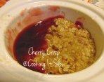 Cherry Crisp