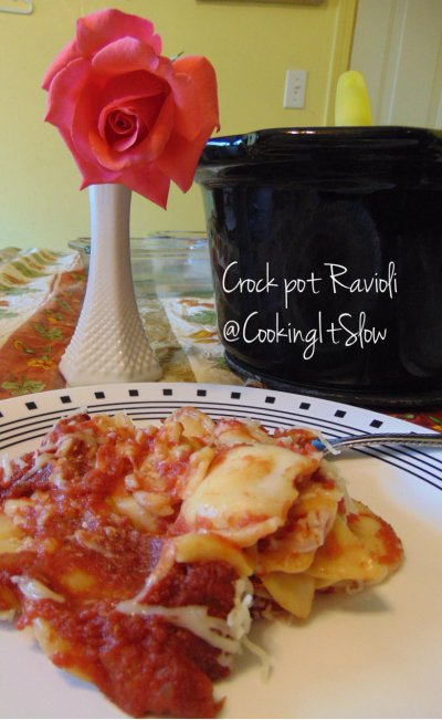 Crockpot Ravioli