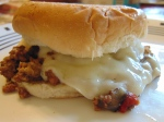 Slow Cooker Cheesesteak Sloppy Joes