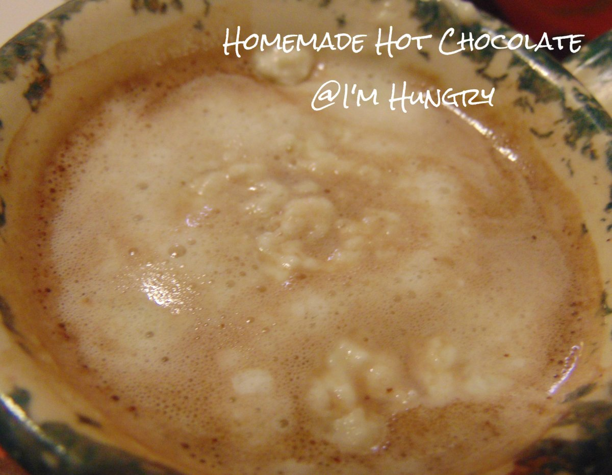 Homemade Hot Chocolate – Christmas Making and Baking