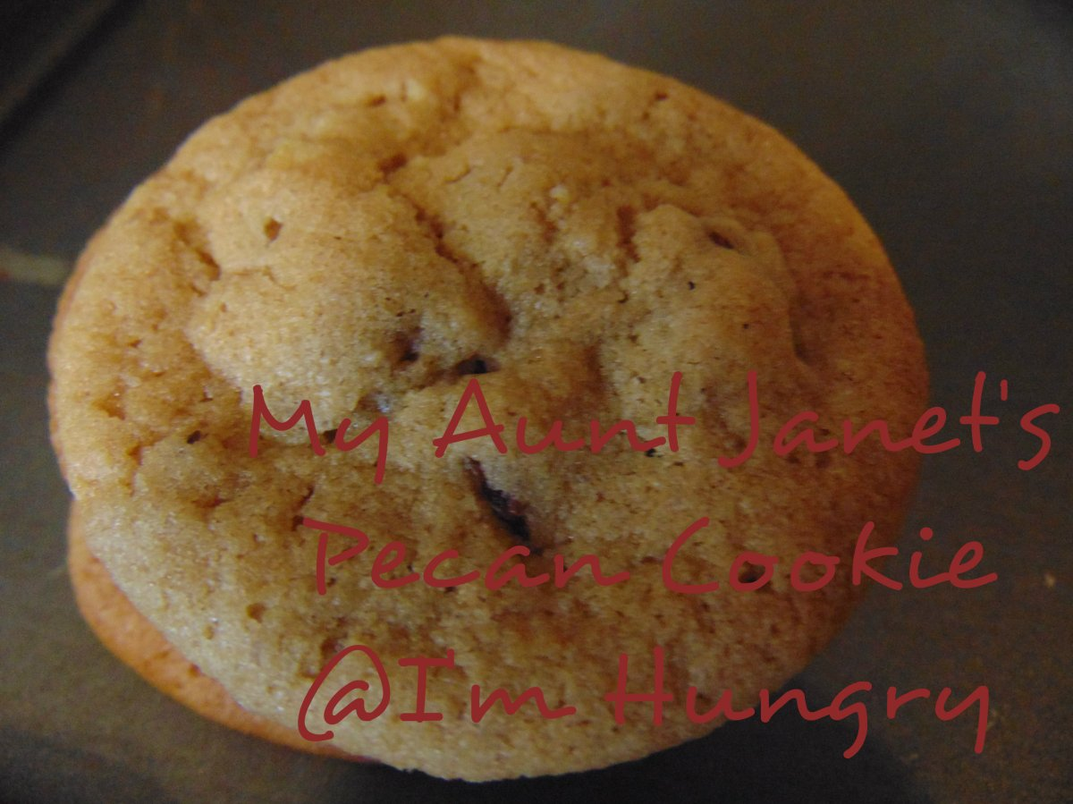 My Aunt Janet's Pecan cookies – Christmas Making andBaking