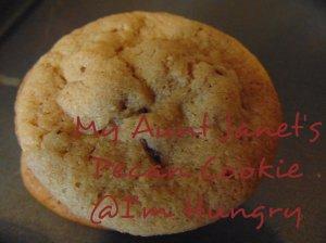 My Aunt Janet's Pecan Cookies