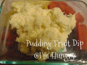 Pudding Fruit Dip