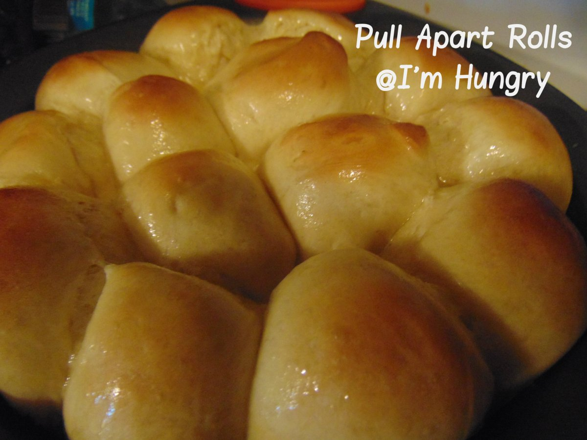 Pull Apart Dinner Rolls – Countdown to Thanksgiving