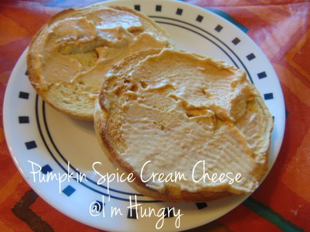 Pumpkin Spice Cream Cheese #2