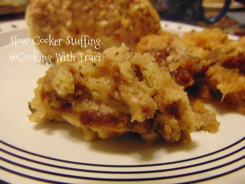 Slow Cooker Stuffing #1