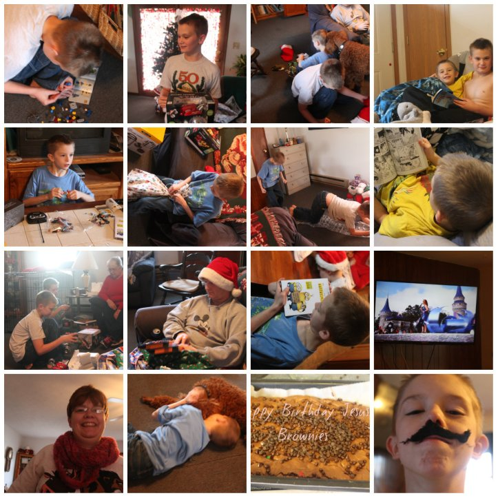 Christmas day collage #2
