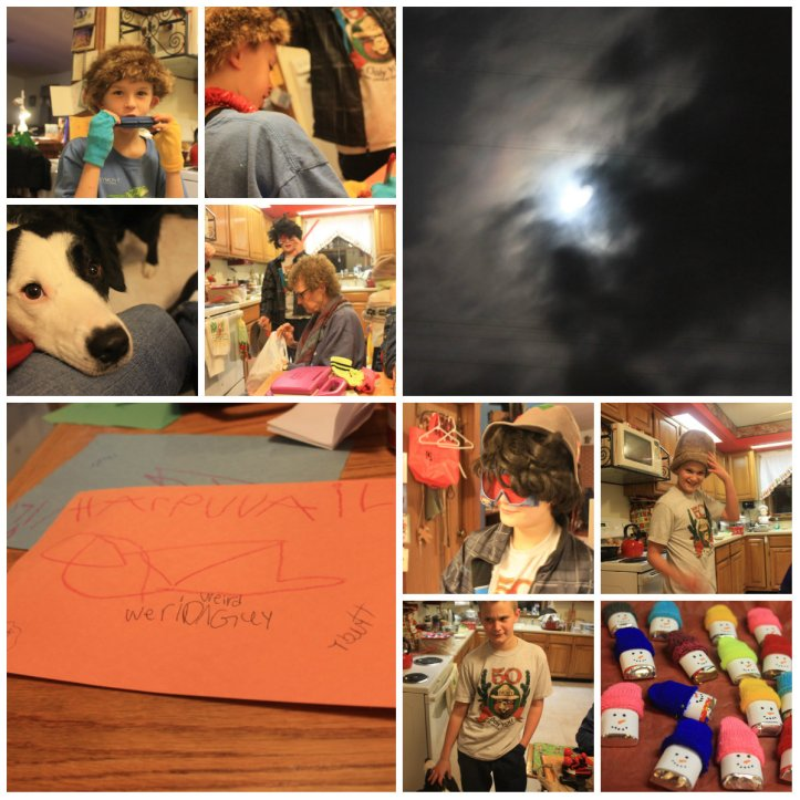 Christmas day collage #4