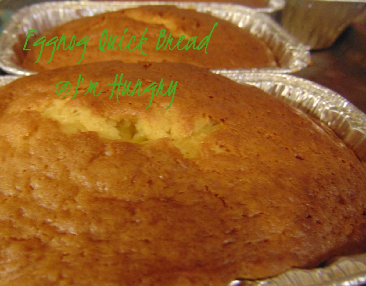 Eggnog Quick Bread – Christmas Making and Baking