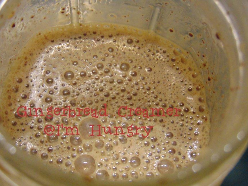 Gingerbread Coffee Creamer
