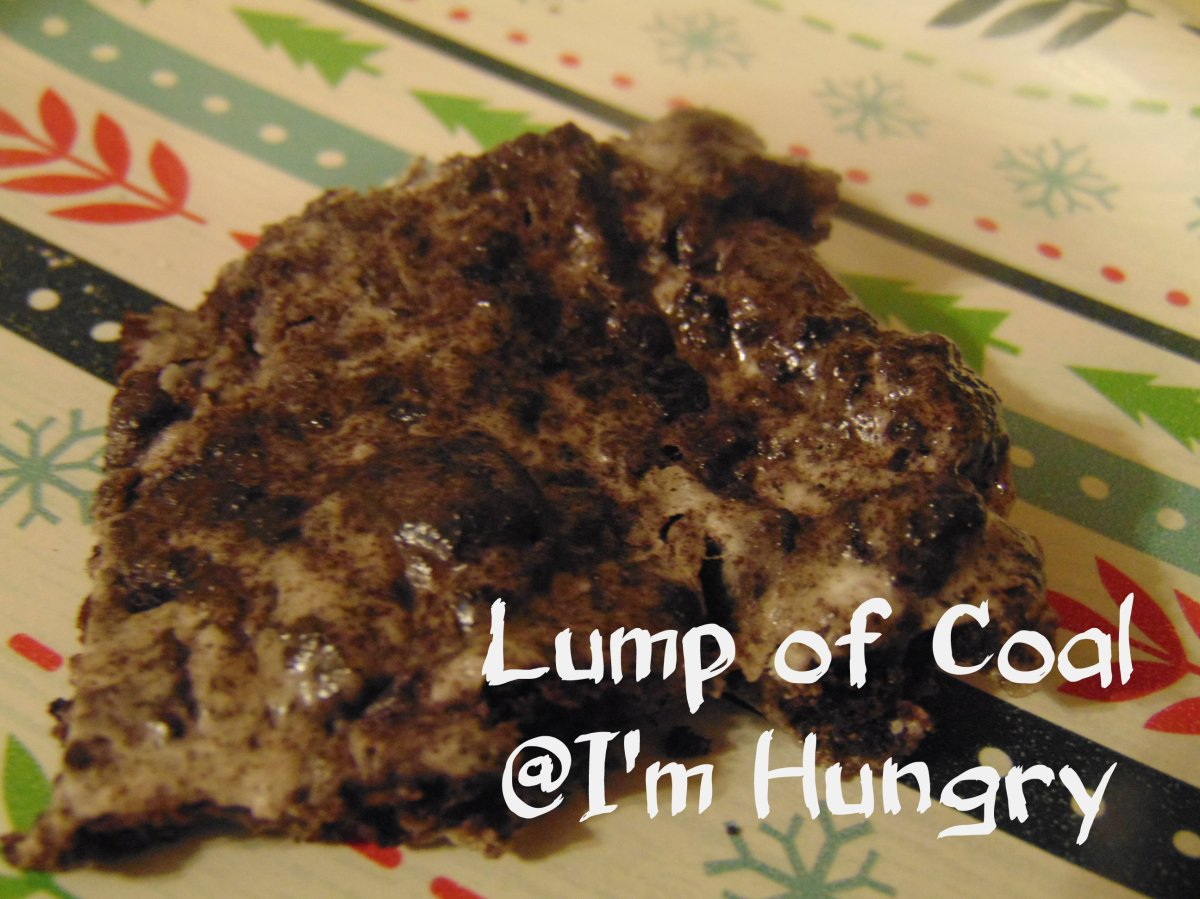 Lumps of Coal – Christmas Making and Baking
