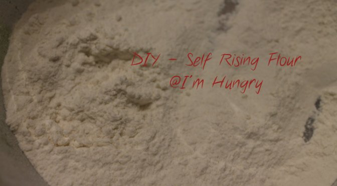 DIY – Self Rising Flour