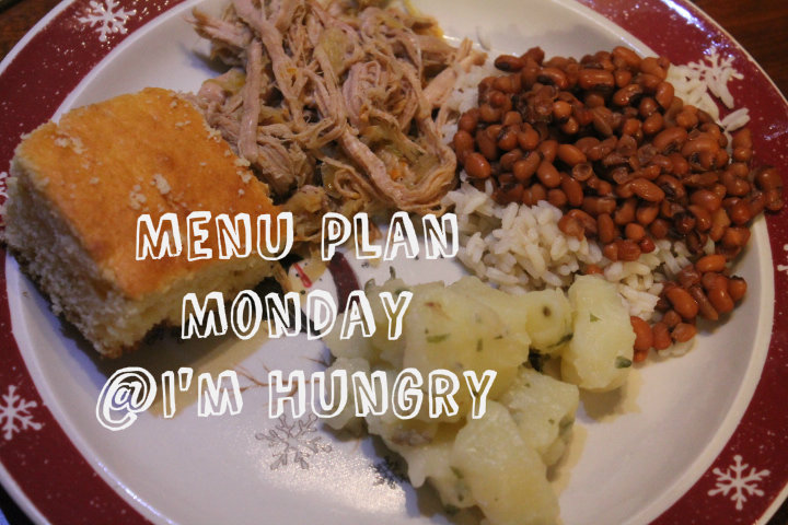 Menu Plan Monday – Week of February 20, 2017