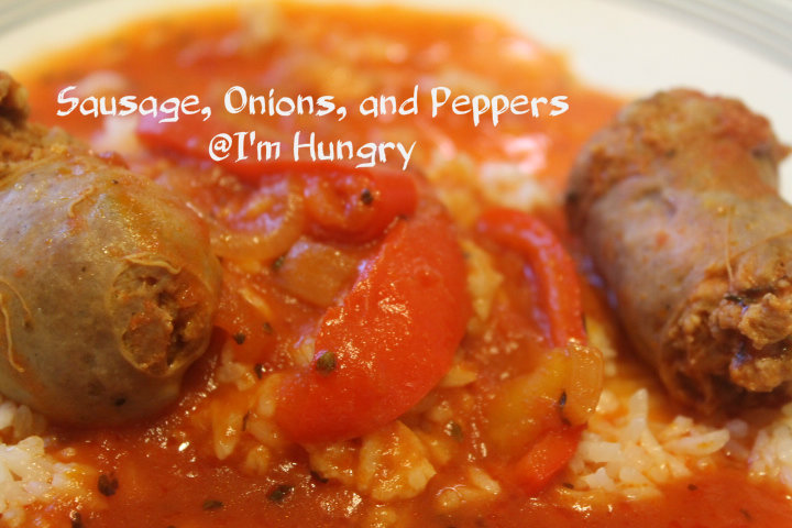 Sausage, Peppers, and Onions – Pressure Cooking Or Slow Cooker