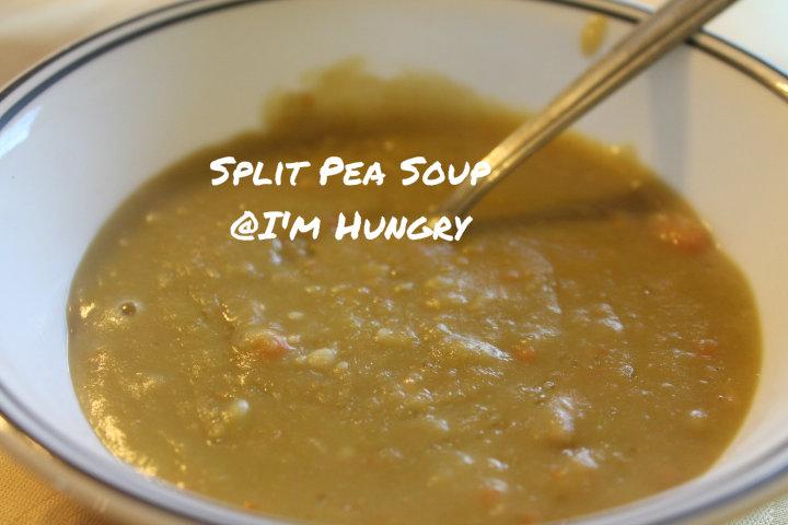 Split Pea Soup (Pressure Cooker or SlowCooker)