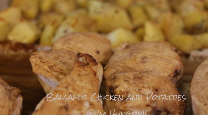 Balsamic Chicken and Potatoes (Sheet Pan Meal)