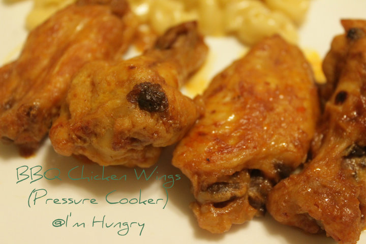 Pressure Cooker BBQ ChickenWings