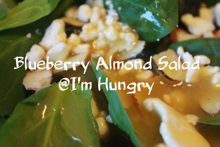 Blueberry Almond SpinachSalad