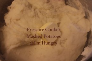 Pressure Cooker Mashed Potatoes