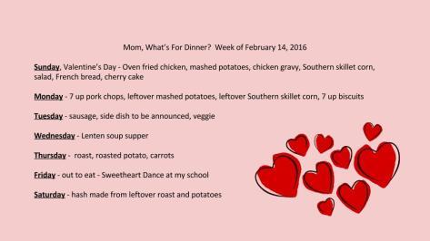 Week of Feb. 14