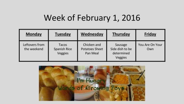 Week of February 1, 2016 (1)