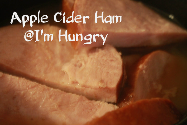 Apple Cider Ham (SlowCooker)