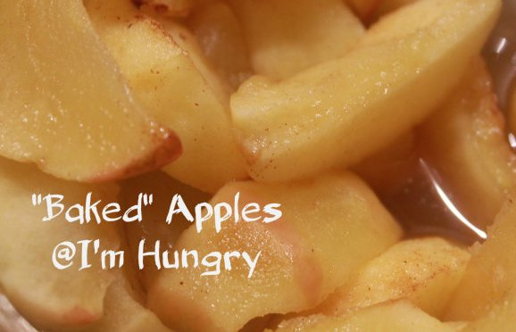 """Baked"" Apples"