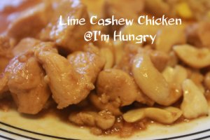 Lime Cashew Chicken