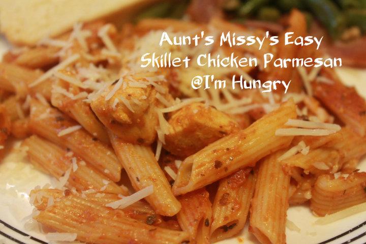 Aunt Missy's Easy Skillet ChickenParmesan